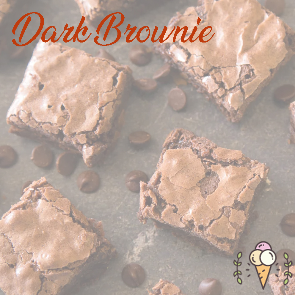 Glace chocolat brownies 500ml